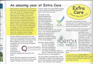 north walsham times advert